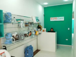 Respire Care - Recepção - Loja Interna